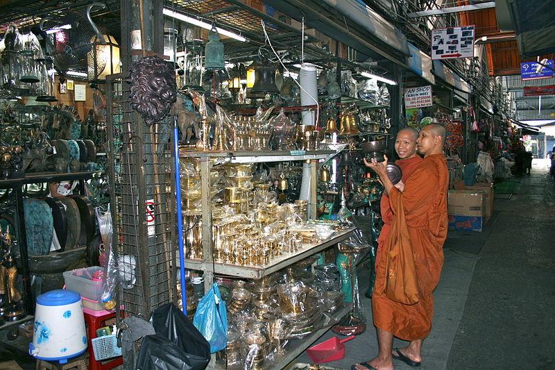 Chatuchak Weekend Market  Broke Tourist