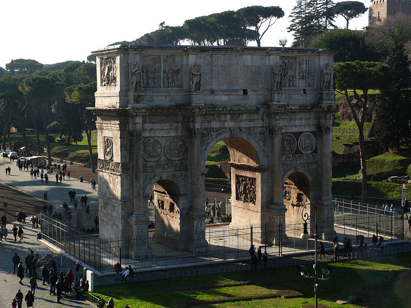 Colosseum & Arch of Constantine