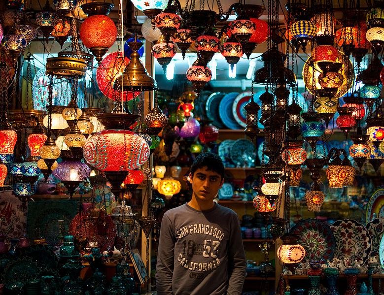 Grand Bazaar Kapali Carsi Broke Tourist