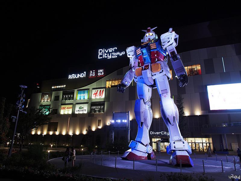 Gundam Front Tokyo Broke Tourist