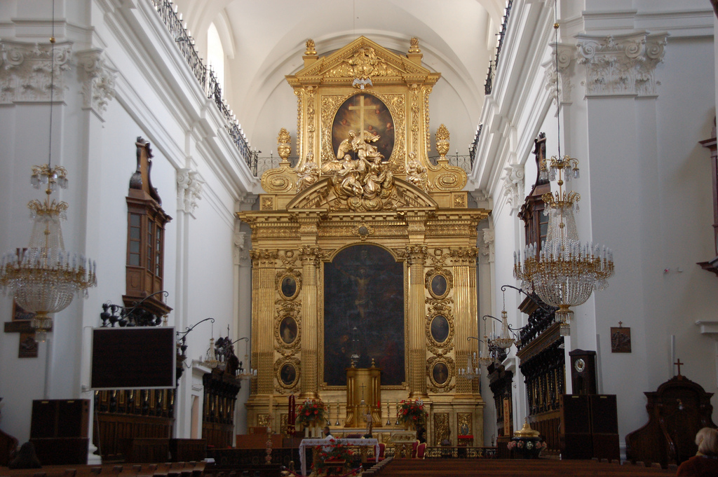 Holy Cross Church Broke Tourist