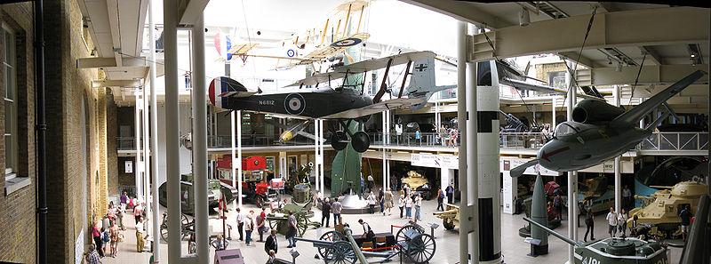 Imperial War Museum London Broke Tourist