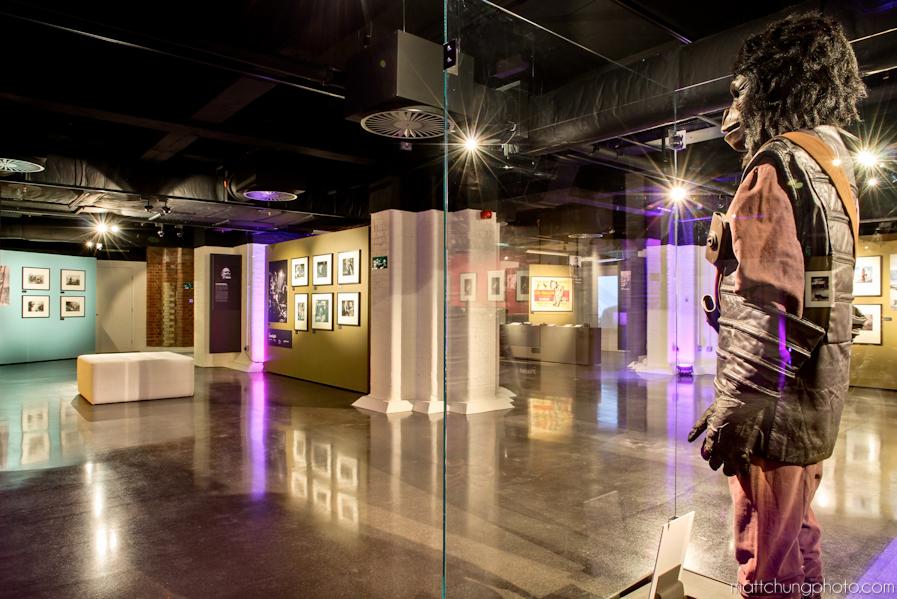 london film museum broke tourist