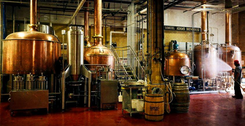 Samuel adams brewery tour and tasting broke tourist for Craft beer tour london