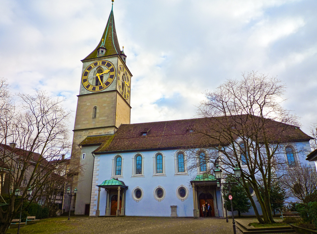 Image result for St. Peter, Zürich