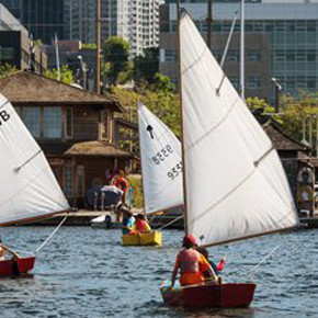 Free Sails With The Center For Wooden Boats