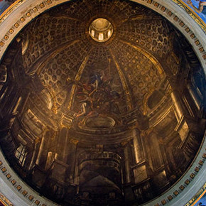 "Church of St. Ignatius' ""Dome"" Illusion"