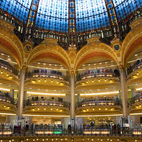 Fashion Show at Galeries Lafayette's