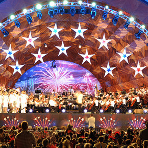 Outdoor Movies and Concerts at Hatch Shell