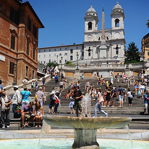 Piazza di Spagna & The Spanish Steps