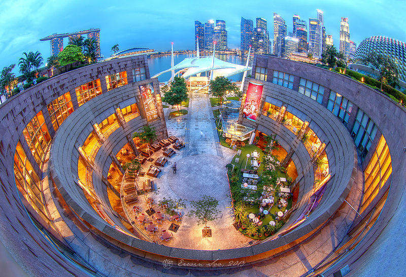 The Esplanade Roof Garden Broke Tourist