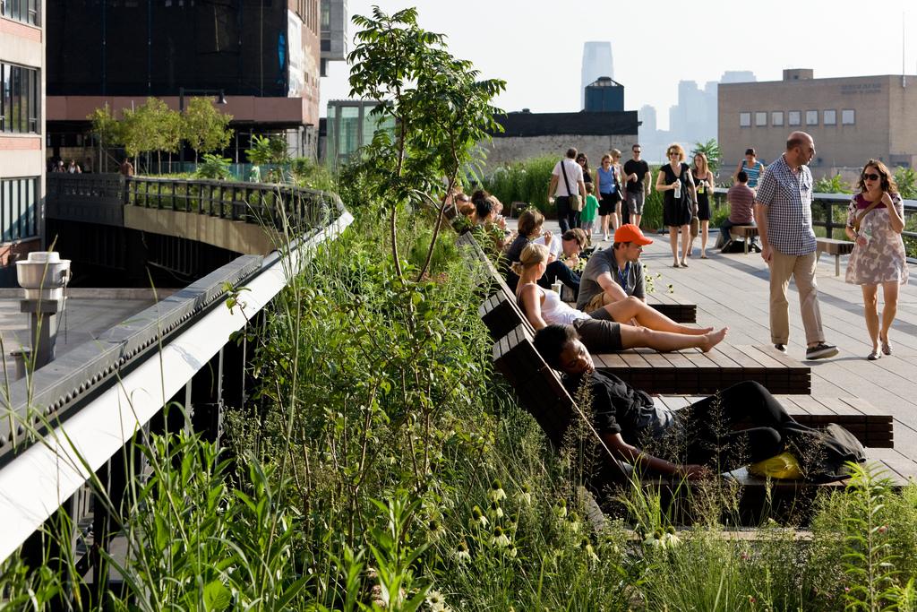 The High Line Broke Tourist